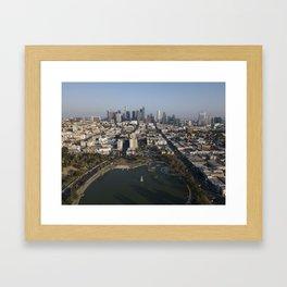 MacArthur Park Los Angeles Framed Art Print
