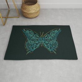 Mechanical Butterfly Rug
