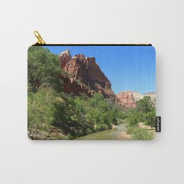 Virgin River At Zion Park Carry-All Pouch