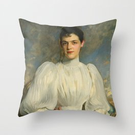 "John Singer Sargent ""Elsie Wagg"" Throw Pillow"