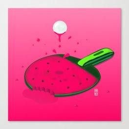 Pongermelon Canvas Print