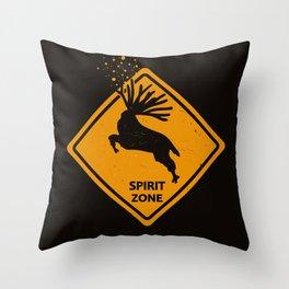 Spirit Zone, Mononoke Throw Pillow