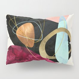 Abstract Pebbles II Pillow Sham