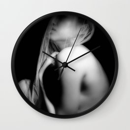 """depression"" Wall Clock"