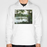 central park Hoodies featuring Central park by ChaunceyInk