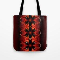 Floral Ribbon Tote Bag