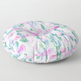 Resolve Pink Blue Floor Pillow