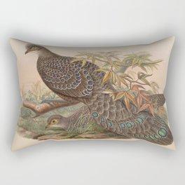 Assam Peacock Pheasant2 Rectangular Pillow