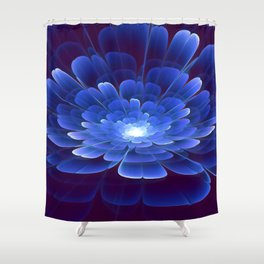 Blossom of Infinity Shower Curtain