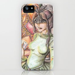 She's with the creatures in the copse iPhone Case