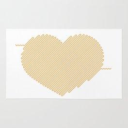 Heart Circuit Rug