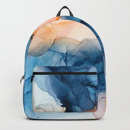 Captivate- Alcohol Ink Painting Backpack
