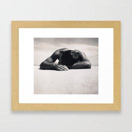 Max Dupain - Sunbaker, 1937 Framed Art Print