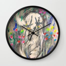 Mary I (Cocoon) Wall Clock