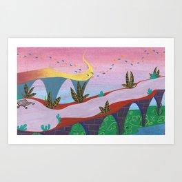underwater place #2 Art Print