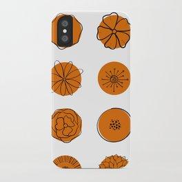 Whimsy in Orange iPhone Case