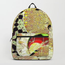 Golden coins abstract Backpack
