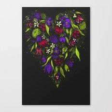 Still Heart Canvas Print