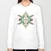 hummingbird Long Sleeve T-shirts featuring hummingbird  by Manoou
