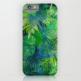 Forest Flora 8 iPhone Case