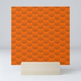 Bubble = Pattern Mini Art Print