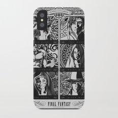 Final Fantasy Job Geek Art Poster Slim Case iPhone X