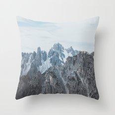 Italian Dolomites Throw Pillow