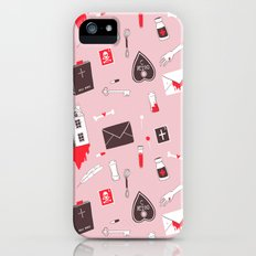 HAUNTED HOUSE (PINK VER) Slim Case iPhone (5, 5s)