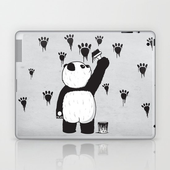 Pandalism Laptop & iPad Skin