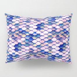Rose Mermaid Skin Pattern Pillow Sham