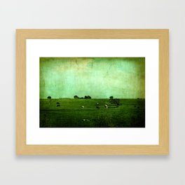 The Green Yonder Framed Art Print