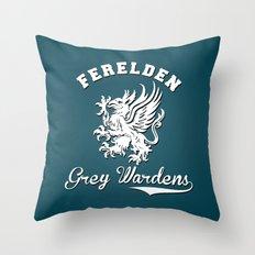 Dragon Age - Ferelden Grey Wardens Throw Pillow