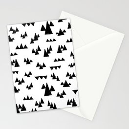 Nordic trees Stationery Cards