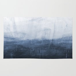 The Storm - Ocean Painting Rug
