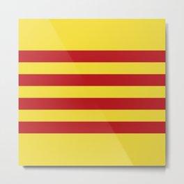 Catalunya: Catalan Flag Metal Print