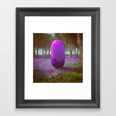 PURPSCURP (everyday 12.15.16) Framed Art Print