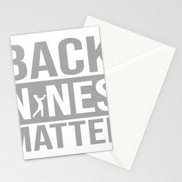 Back Nines Matter Stationery Cards