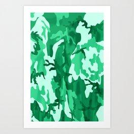 Summer Cammo Art Print