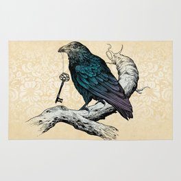 Raven's Key Rug