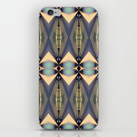 art deco iPhone & iPod Skins featuring Art-deco by I-lin