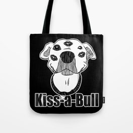 Pitbull Kiss-a-Bull (Kissable) Tote Bag