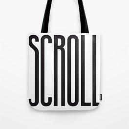 SCROLL Tote Bag