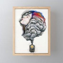 The Midnight Train Framed Mini Art Print