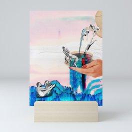 Cup of Bath Mini Art Print