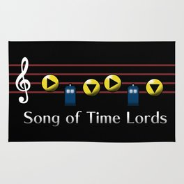 Song of Time Lords Rug