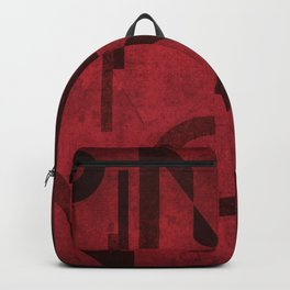 Pinot Noir Wine Typography Backpack