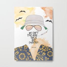 Bat Country Metal Print