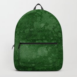 Old green wall with splatter Backpack