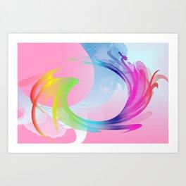 Power and positive energy, 27 Art Print