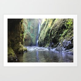 The Gorge Art Print